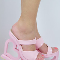 Valentine's Bae Platform House Shoes