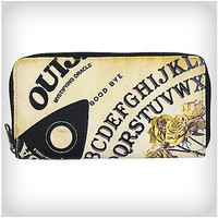 Ouija Roses Zip Wallet - Spencer's