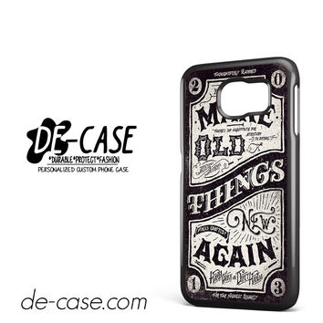 Make Old Things Again DEAL-6796 Samsung Phonecase Cover For Samsung Galaxy S6 / S6 Edge / S6 Edge Plus