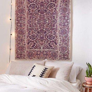 Stacie Woodblock Tapestry | Urban Outfitters