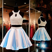 Short homecoming dress S069