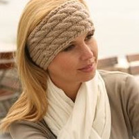 Cable Knit HeadBand-Fall Fashion Accessory-Cable Knit Ear Warmer