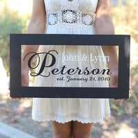 Personalized Newlywed Sign | zulily