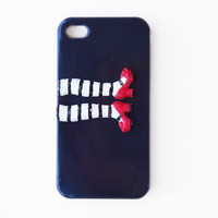Wicked witch Iphone 4, 4s hard case . Unusual black hard case inspired by wizard of OZ. FOr her, all