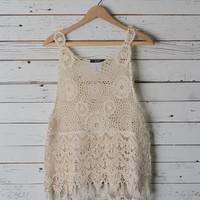 Jackie Lace Top