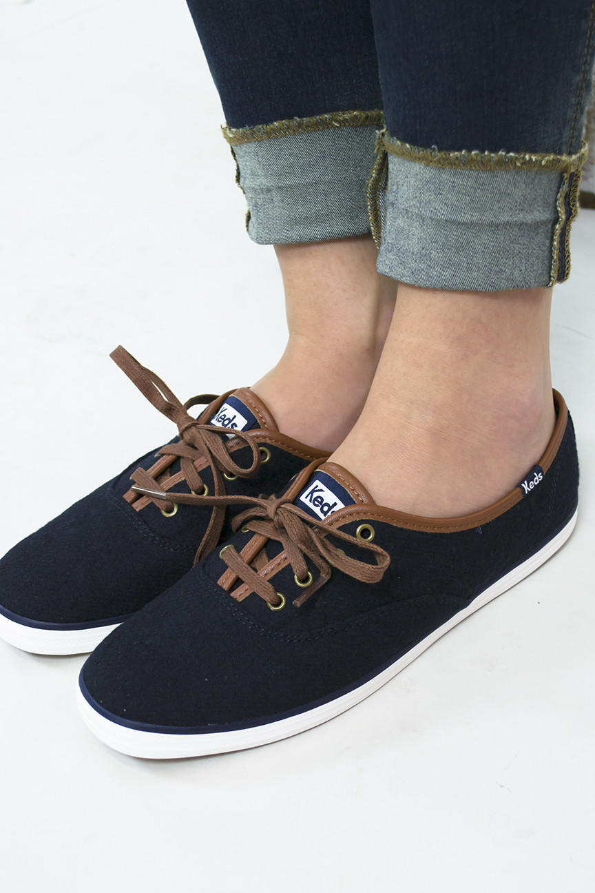 65355020c17 Champion Wool Lace Up Keds from Siloe Boutique
