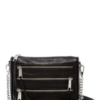DCCKHB3 Rebecca Minkoff | Mini 5-Zip Leather Crossbody