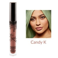 2016 New Lipgloss Kylie Lip by kylie Jenner Lipstick With Lip Gloss Liquid Matte Lasting Makeup 14 Colors Lip Liner cosmetic