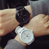 Jelly Strap Couple Wristwatch