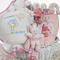 My Happy Baby Girl Gift Basket