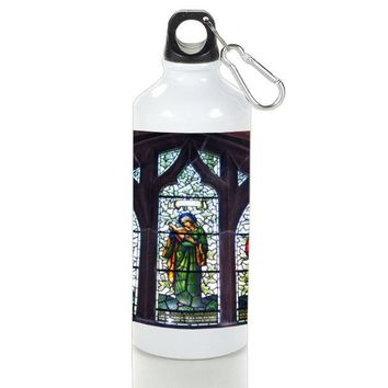 Gift Sport Bottles | Curch Stained Glass Architechture Aluminum Sport Bottles