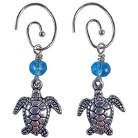 Turtle Charm Earrings - Guatemala