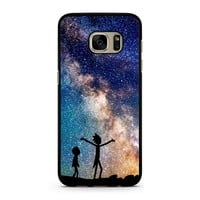 Rick And Morty Galaxy Samsung Galaxy S7 Case