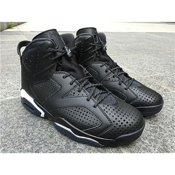 Air Jordan 6 Retro Black Cat 3M Sneaker 36-47