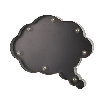 Thought Cloud Chalk Board