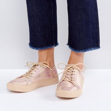 ASOS DATE NIGHT Lace Up Trainers at asos.com