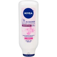 NIVEA Radiant Silk In Shower Lotion 13.5 fl oz