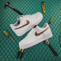 """Nike Air Force 1 07 LV8 Suede """"white"""" Sneaker Best Goods"""