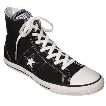 DCKL9 Men's Converse? One Star? Hi-Top Lace up shoe - Black
