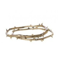 Alkemie + Thorny Stem Bangles - eCo Jewelry - Women's