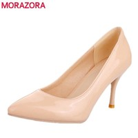 Women Solid Color  Stiletto Pumps  With 3 Inch Heels