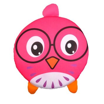 Soft Cloth Frisbee Outdoor Sports Toy for Kids, Pink Chicken