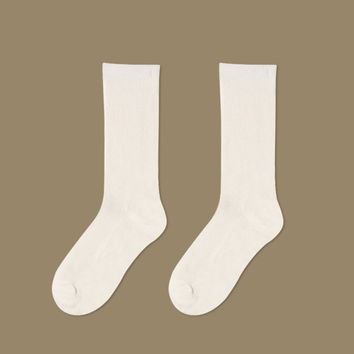Essential Star Quality Socks | White