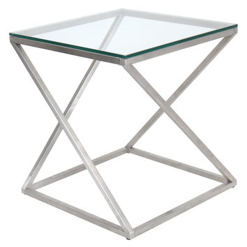 4Z Side Table Clear