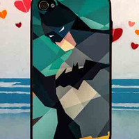 Batman Art Colorfull - for iPhone 4/4s/5/5c/5s, Samsung S3/S4 case cover, gift under 25