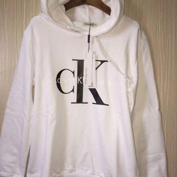 ESBON Calvin Klein' Fashion Hooded Top Pullover Sweater Sweatshirt Hoodie