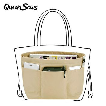 Women Makeup Organizer Travel Pockets Handbag Heighten Style Tote Style Storage Bag 4 Colors Large Capacity Casual Toiletry Bag