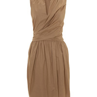 Beige Gathered Cotton Wrap Dress, 3.1 Phillip Lim. Shop the latest Phillip Lim collection at Liberty.co.uk