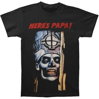 Ghost B.C. Men's  Here's Papa T-shirt Black