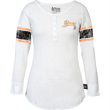 Chase Authentics Danica Patrick Women's Long Sleeve Varsity Henley
