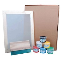 Screen Printing Kit - All you need to get started! A4 or A3 and Standard or Deluxe!