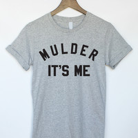 X-Files Mulder It's Me T-Shirt in Grey