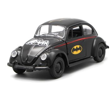 Batman Dark Knight gift Christmas High simulation RMZ City 1:36 scale classic alloy pull back Batman Beetle Collection metal model toy car Excellent for Kids Gift AT_71_6