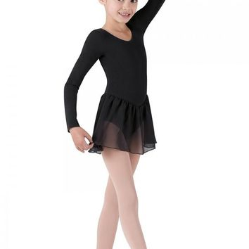 Petal Long Sleeve Leotard Tutu Dress CL5309 by Bloch