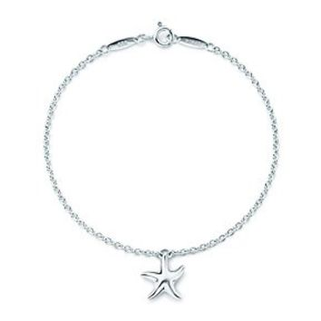 Tiffany & Co. -  Elsa Peretti® Starfish bracelet in sterling silver.