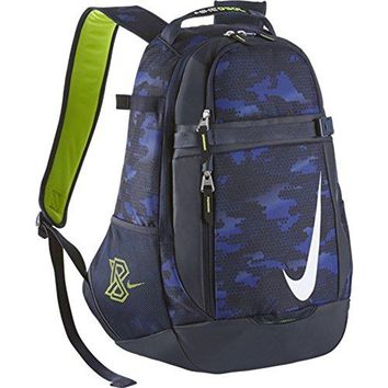 Nike Men's Vapor Select Graphic Baseball Bat Bag Backpack Midnight Navy