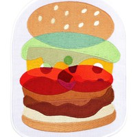 Burger Large Back Patch