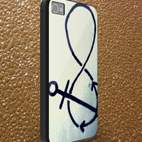 anchor - iphone case cover- iPhone 4 / iPhone 4S / iPhone 5 / Samsung S2 / Samsung S3 / Samsung S4 Case Cover (AF )