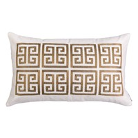 Lili Alessandra Guy Basket Weave Embroidery Accent Pillow | Nordstrom