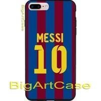 Hot New Barcelona FC Lionel Messi CASE COVER iPhone 6s/6s+7/7+8/8+,X and Samsung