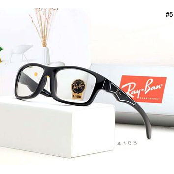 Ray-Ban street fashion men and women retro pilot riding sunglasses #5