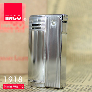 Vintage Austria 6800 IMCO gasoline lighter briquet Can be cigarette case