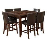 7 Piece Morton Counter Height Table Set