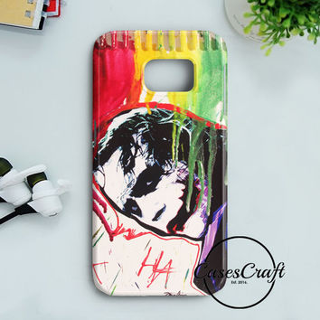 The Joker Paint Art Samsung Galaxy S7 | casescraft