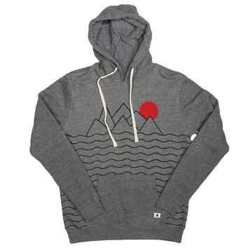 Altru Apparel Mountains and Sun Hoodie