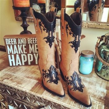 Southern Comfort Zone Boots - Black